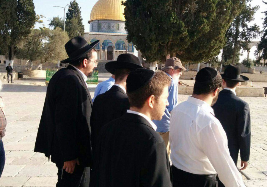 Jew Detector: WATCH: Jews Allowed To Pray On Temple Mount For First Time