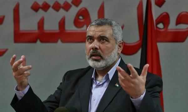 Ismail Haniyeh (Flash 90) Hamas - Jewish breaking news
