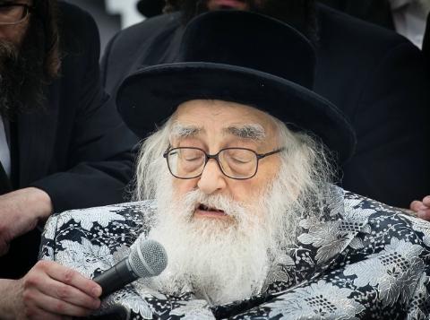 "BDE: Vishnitzer Rebbe of Monsey Z""TL Dies at 95 | Jewish"