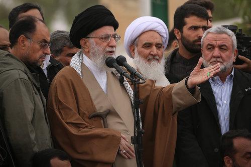 Pro-regime rallies in Iran as U.S.  imposes sanctions